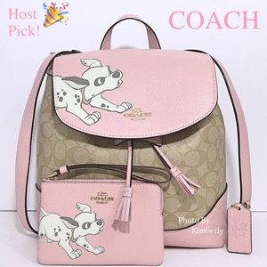 Coach Disney Dalmatian Backpack & Wristlet Set
